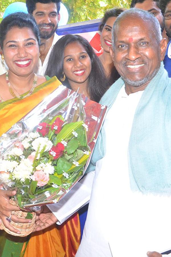Anjali Pappa Movie Pooja Images