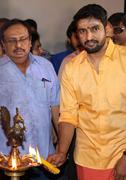 Odi Odi Uzhaikkanum Launch Pooja Images