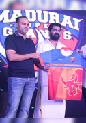 TNPL with Mr.Virender Sehwag - Madurai Super Giants Press Meet Images
