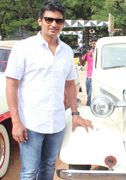 Actor Jiiva Car Rally Images