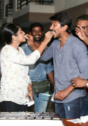 Actor Udhaynidhi Stalin Celebrating Images