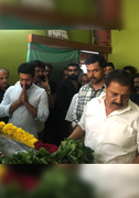 Celebrities Last Respect to Producer Panchuarunachalam Images