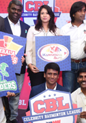 Indias First Celebrity Badminton League Launched Images