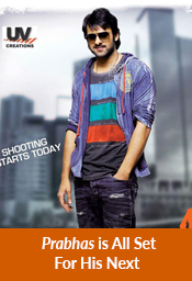 Prabhas is All Set For His Next