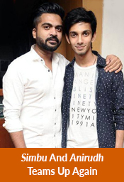 Simbu And Anirudh Teams Up Again
