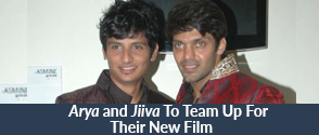 Arya and Jiiva To Team Up For Their New Film?