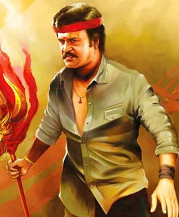 Superstar Rajini In Lingaa Tamil Movie 2daycinemacom