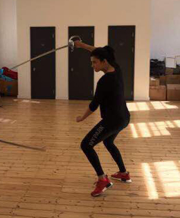 Shruti Haasan Giving Her Best For Fight Training
