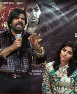 T Rajendar Insults Sai Dhansika In Front Of Media