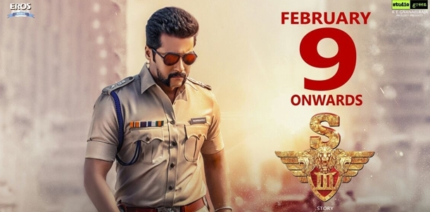 Singam 3 - Movie Review